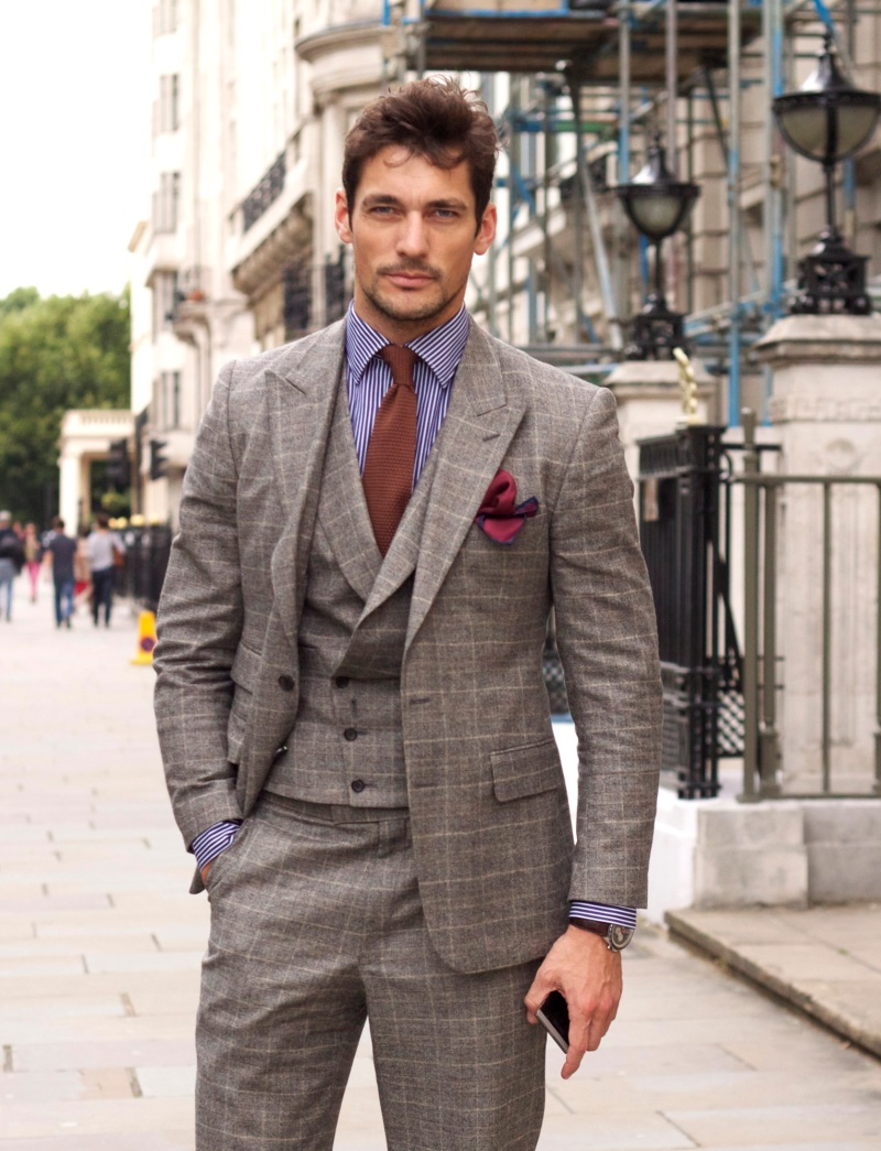 THREE-PIECE SUITS – BESPOKEN