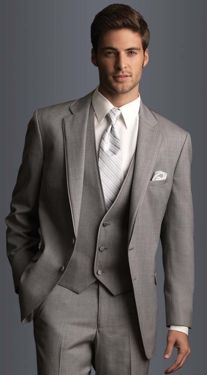 Heather Grey Suits